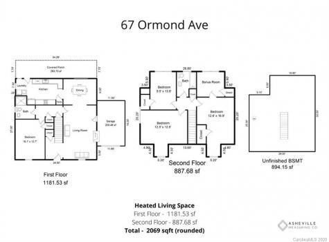 67 Ormond Avenue Asheville NC 28806