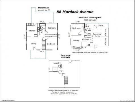 88 & 90 Murdock Avenue Asheville NC 28801