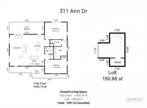 311 Ann Drive Hendersonville NC 28739