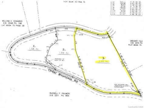Lot 3 Cedar Mountain Road Asheville NC 28803