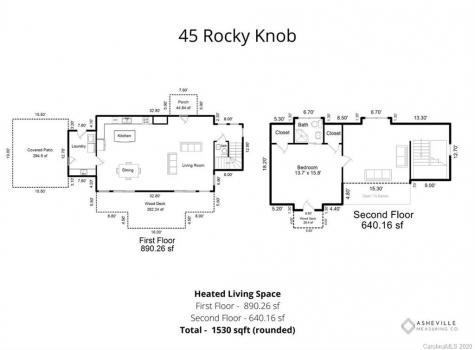 45 Rocky Knob Road Fairview NC 28730